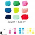 Bild 2 von We R Memory Keepers CMYK Clearstamps - Bright + Happy