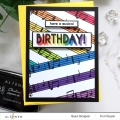 Bild 9 von Altenew Clearstamp-Set Happy Birthday to You - Geburtstag