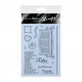 For the love of...Stamps by Hunkydory - Clearstamps Sit Back & Relax