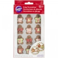 Zuckerdecor Gingerbread Man W/Sweater
