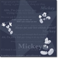 Sandy Lion Mickey Tonal