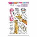 Stampendous Perfectly Clear Stamps - Peeking Pals - Spähende Kumpels