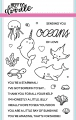 Heffy Doodle Clear Stamps Set - Oceans of Love - Stempel Ozean Liebe