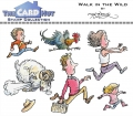The Card Hut Clear Stamps - Walk in the wild - Stamp Set