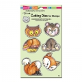 Stampendous Dies Stanze Woodland Friends Die Set