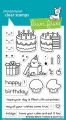 Lawn Fawn Clear Stamps  - Clearstamp birthday before 'n afters
