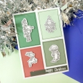 Bild 3 von For the love of...Stamps by Hunkydory - Happy Town Clear Stamp - Christmas Dress Up