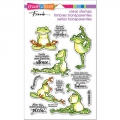 Stampendous Perfectly Clear Stamps - Frog Yoga