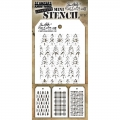 Tim Holtz Collection Schablone Mini Layering Stencil Set #32