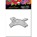Stampendous Cling Stamp Gummistempel Laurel Burch Dog Tail Run