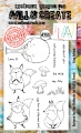 AALL & Create Clear Stamps  - Foxy Friends