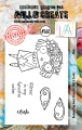AALL & Create Clear Stamps  - Wish
