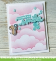 Bild 7 von Lawn Fawn Clear Stamps  - Clearstamp Scripty Bubble Sentiments