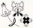 studio g Clearstamps Blumen 4