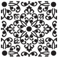 Cookie Cutters Schablone Damask