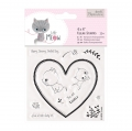 Papermania Clearstamp - Little Meow - You are lovely