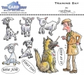 The Card Hut Clear Stamps - Training Day - Stamp Set