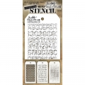 Tim Holtz Collection Schablone Mini Layering Stencil Set #08