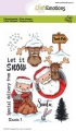 CraftEmotions Stempel - clearstamps A6 - Santa 1 Carla Creaties