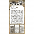 Tim Holtz Collection Schablone Mini Layering Stencil Set #17