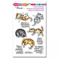 Stampendous Perfectly Clear Stamps - Kitty Therapy - Katzen Therapie