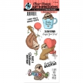 Art Impressions Clearstamps  Funny Farm Sloth-Some