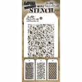 Tim Holtz Collection Schablone Mini Layering Stencil Set #24