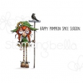 Gummistempel Stamping Bella Cling Stamp ODDBALL SCARECROW RUBBER STAMP