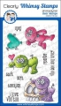 Whimsy Stamps Clear Stamps  - Voo Doo