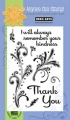 Clear Design Thank You Flourishes