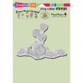 Stampendous  Perfectly Cling  Stamps - Juggling Berries