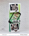 Bild 2 von Whimsy Stamps Clear Stamps - Wonky Donkey Esel