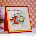 Bild 3 von Whimsy Stamps Clear Stamps  - Best Fishes - Party Fische