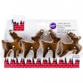 Metal Cookie Cutter Set Rentiere