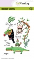 CraftEmotions Stempel - clearstamps A6 - Jungle 1 Carla Creaties