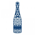 Tattered Lace Champagne Bottle