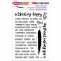 Stampendous Perfectly Clear Stamps - Greetings Galore