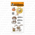 Art Impressions Clearstamps Howl-oween Set