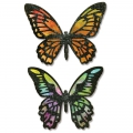 Sizzix Thinlits Dies By Tim Holtz Detailed Butterflies