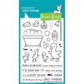 Lawn Fawn Clear Stamps  - Clearstamp Rub-A-Dub-Dub