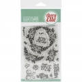 Avery Elle Clear Stamps - Rustic Wreath - Weihnachtskranz