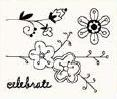 studio g Clearstamps Blumen 5