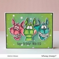 Bild 4 von Whimsy Stamps Clear Stamps - Wonky Donkey Esel