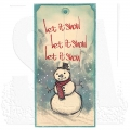 Bild 3 von The Art of Brett Weldele Cling Mount Stamps Gummistempel - Blizzy the Happy Snowman