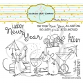Colorado Craft Company Clear Stamps - Party Time-By Anita Jeram
