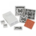 Stempel- und Stanzset Stamp & Punch Set Lace Butterfly