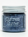Distress Glitter Faded Jeans by Tim Holtz