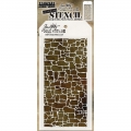 Tim Holtz Collection Schablone Layering Stencil Stone