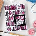 Bild 2 von Hero Arts Color Layering Clear Stamps - Bookcase Peek-A-Boo