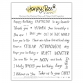 Bild 1 von Honey Bee Stamps Clearstamp - Stellar Sentiments - Texte/Wörter